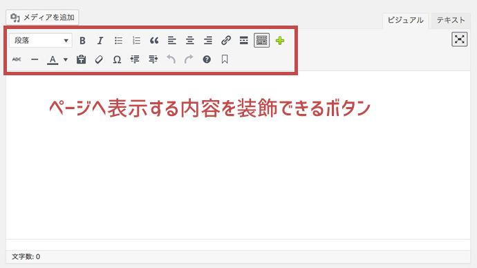 WordPress 装飾ボタン